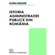 Istoria administraţiei publice din România.