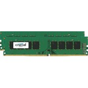 Crucial CT2K16G4DFD824A Kit Memoria 2x16GB, 32GB, DDR4 2400 MT/s, PC4-192000, DIMM 288-Pin, Verde