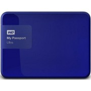 "HDD Extern Western Digital My Passport Ultra, 3TB, 2.5"", USB 3.0 si USB 2.0, Albastru"
