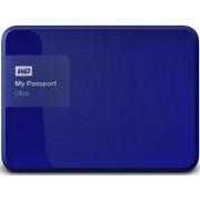 """HDD Extern Western Digital My Passport Ultra, 3TB, 2.5"""", USB 3.0 si USB 2.0, Albastru"""