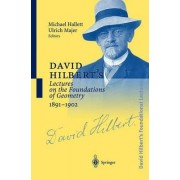 David Hilbert's Lectures on the Foundations of Geometry, 1891-1902 by Michael Hallett