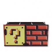 Porta Lápis Bloco de Interrogação Super Mario Bros Geek