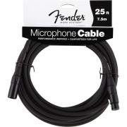 Fender - Performance Micro Cable 7,5m Black, XLR ma/fe
