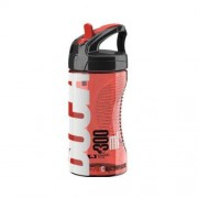 ELITE Bidon Bocia Transparent-Red 350ml