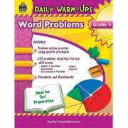 Daily Warm-Ups: Problem Solving Math Grade 5 by Robert W Smith