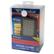 Menalux 9002568369 - Filtro para aspiradoras, color negro
