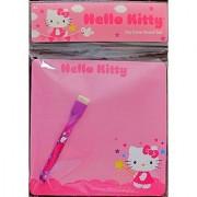 Sanrio HELLO KITTY DRY ERASE BOARD Set w Board (7 x 7 ) & Dry Eraser Marker