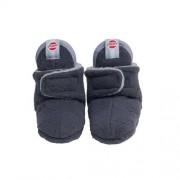 Lodger Zapatillas para bebé (forro polar), 0-3 meses color gris antracita