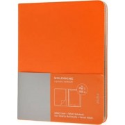 Ipad 3 and 4 Moleskine Cadmium Orange Slim Digital Cover with Notebook by Moleskine