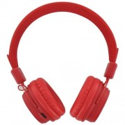 Casti Bluetooth BeeWi BBH120 stereo red