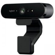 Уебкамера Logitech BRIO 4K Ultra HD webca, Черна, 960-001106