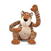 Melissa & Doug Swagger Tiger Stuffed Animal (nearly 0.5 meters long)