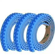 SuSenGo 3 Rolls Blue 9.8Feet/3meter Loops Building Block Tape Roll Self-Adhesive