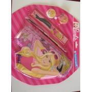 Penar metalic echipat, Barbie