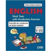 English exercitii de vocabular pe baza textelor cls 5-8 - Cristina Cindescu Dumitru