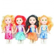 Hommate Toys Play Fashion Perfect Beautiful Four Happy Princess Doll - Age 3+