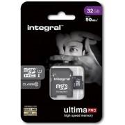 Card de memorie Integral INMSDH32G10-90U1, microSDHC, 32GB, Clasa 10