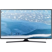 "Televizor LED Samsung 152 cm (60"") 60KU6072, Smart TV, Ultra HD 4K, WiFi, CI+ + Lantisor placat cu aur si pandantiv in forma de inel gravat"