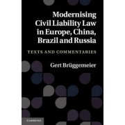 Modernising Civil Liability Law in Europe, China, Brazil and Russia by Gert Br