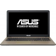 "Laptop ASUS X540LA-XX813D (Procesor Intel® Core™ i3-5005U (3M Cache, 2.00 GHz), Broadwell, 15.6"", 4GB, 128GB SSD, Intel® HD Graphics 5500, Negru ciocolatiu) + Geanta Laptop Trust Atlanta 21080 16"" (Neagra) + Bitdefender Antivirus Plus 2017, 1 PC, 1 an, Li"