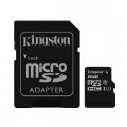 Tarjeta MicroSDHC 8GB Clase 10 UHS-I Kingston SDC10G2/8GB c/adapt