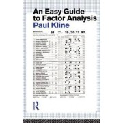 An Easy Guide to Factor Analysis by Paul Kline