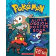 Alola Region Poster Book (Pokemon)