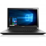 Laptop Lenovo B50-80 15.6 inch HD Intel Core i3-5005U 4GB DDR3 500GB+8GB SSHD FPR Windows 10 Pro Black