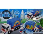 City Truck Műanyag teherautó gyerek játék Cleaner Truck - No.9977