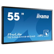 iiyama ProLite TE5564MIS-B2AG 55' LCD 10-Points Touch Screen 1920x1080 IPS LED Fan-less speakers Multiple In-/Outputs (VGA DVI-D HDMI (2x) DisplayPort) Infra