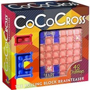 Brainwright CoCo Cross The Rolling Block Brainteaser Puzzle