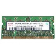 HP 431402-001 - Mémoire pour portable - 512 Mo - SO DIMM 200 broches - DDR2 - PC2-5300S-555-12 A0