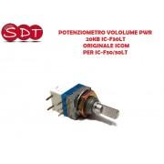 POTENZIOMETRO VOLUME PWR. 20KB IC-F30LT ORIGINALE ICOM PER IC-F30/30LT