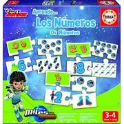 Miles del Futuro - Los números, juego de asociación (Educa Borrás 16849)