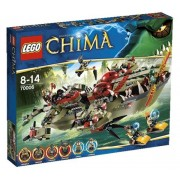 Legends of Chima - Playthemes - Le croc navire Cragger - 70006