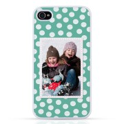 iPhone 4/4s - Foto case -Transparant