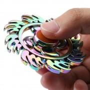 rosegal Fire Wheel Colorful EDC Fidget Metal Spinner Anti-stress Toy