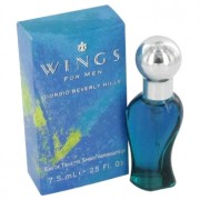 Giorgio Beverly Hills Wings Mini EDT Spray 0.25 oz / 7.39 mL Men's Fragrance 402561