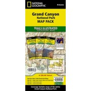 Grand Canyon National Park Map Pack: Topographic Trail Maps