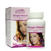 Estrogen natural (60 cps) - pentru sustinerea functiei hormonale feminine