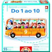 Juegos educativos Educa - Aprendo a... contar do 1 ao 10, en portugués (14241)