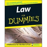 Law For Dummies by John Ventura
