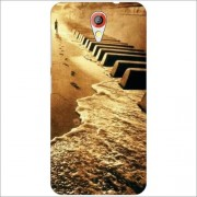 HTC Desire 620G Back Cover - Flow Of Music Designer Cases