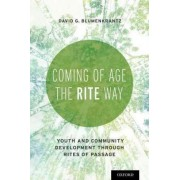 Coming of Age the Rite Way by David Blumenkrantz