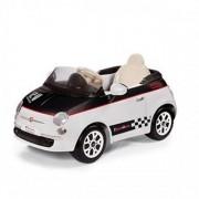 Fiat 500 12v White/Black PEG PEREGO
