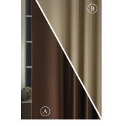 Blackout fényzáró sötétítő függöny üni barna-bézs 300-as/Cikksz:01220134