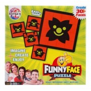 Funny Faces Puzzle Game