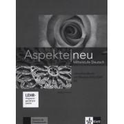 Aspekte neu B2 Lehrerhandbuch mit digitaler Medien-DVD-ROM by Birgitta Fr