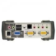 Aten CS-1732B 2 Port USB KVM Switch with OSD / USB 2.0 Hub -