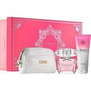 Versace Bright Crystal Комплект (EDT 90ml + BL 100ml + несесер) за Жени
